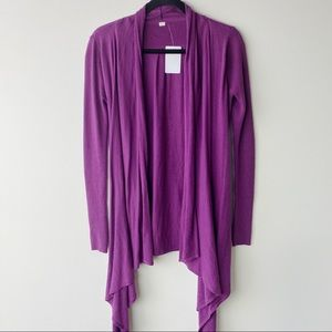 Lululemon live healthy wrap in purple